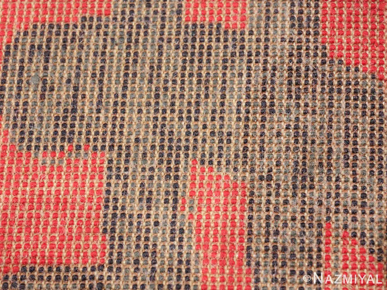 vintage scandinavian andy warhol dollar sign art rug 49671 knots Nazmiyal