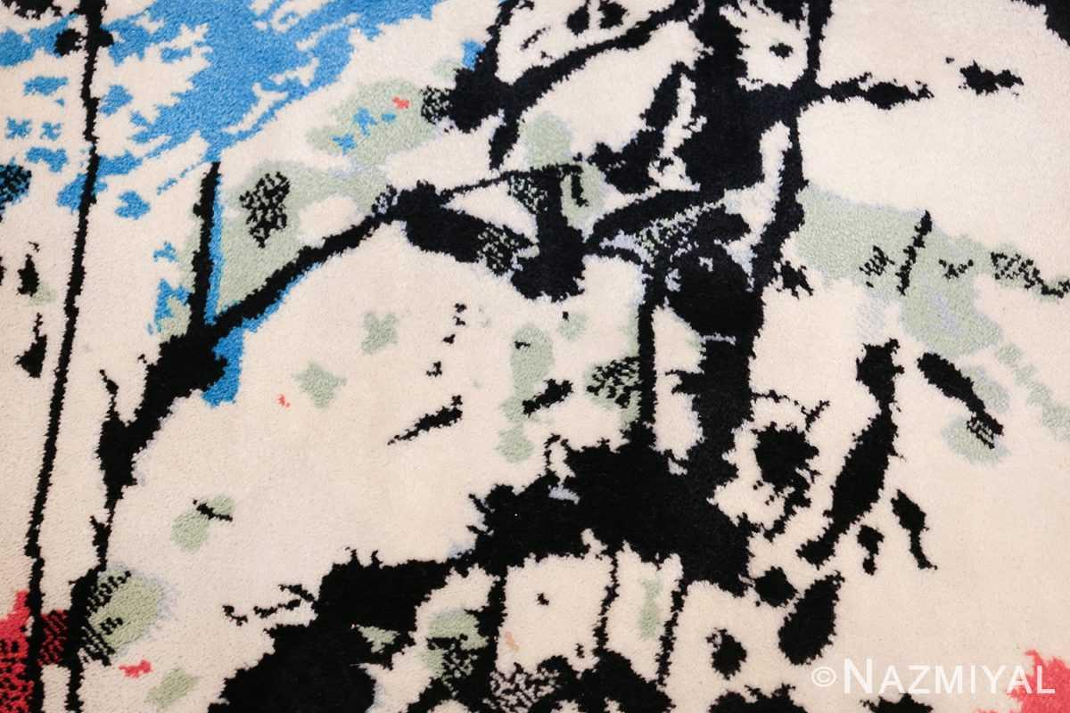 vintage scandinavian ege art line robert jacobsen rug 49670 texture Nazmiyal