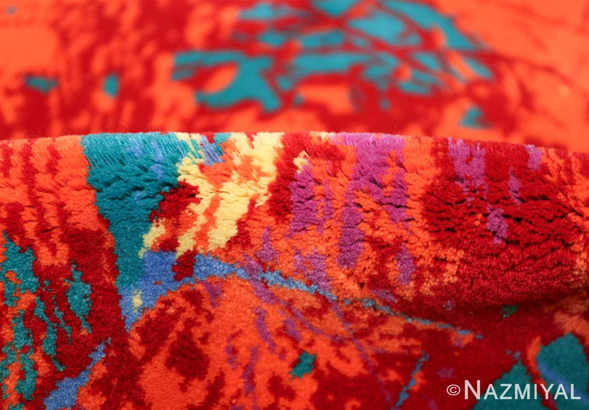 vintage scandinavian rug by sam francis 49703 pile Nazmiyal