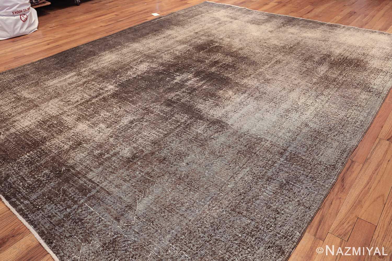 vintage shabby chic room size sivas turkish rug 49695 side Nazmiyal