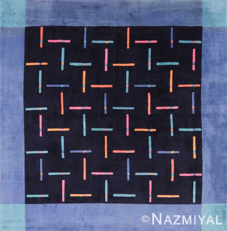 Square Modern Contemporary Ingrid Dessau Rug for Kinnasand 49682 by Nazmiyal