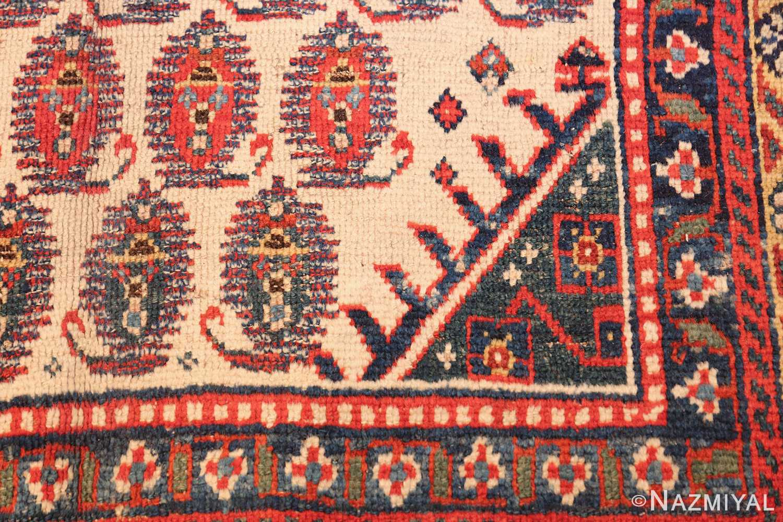wide hallway antique tribal persian gashgai runner rug 49425 design Nazmiyal