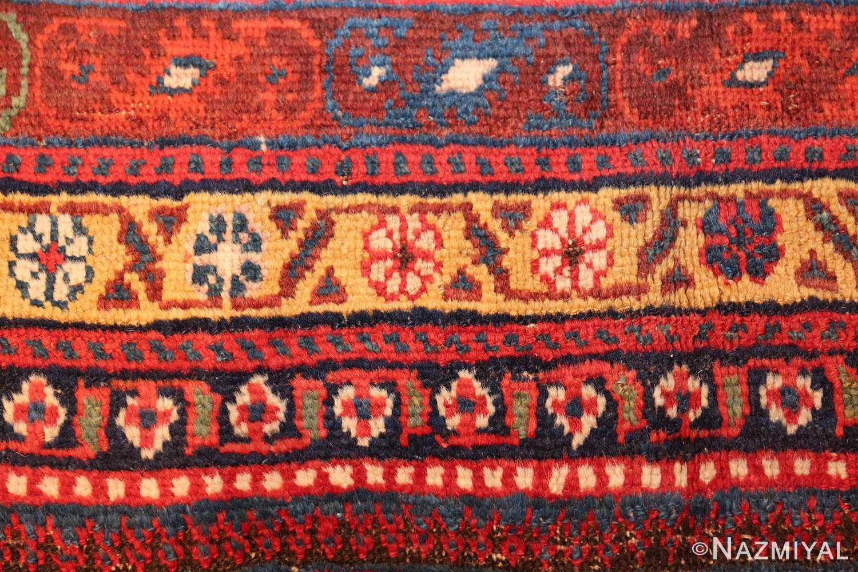 wide hallway antique tribal persian gashgai runner rug 49425 ivory Nazmiyal