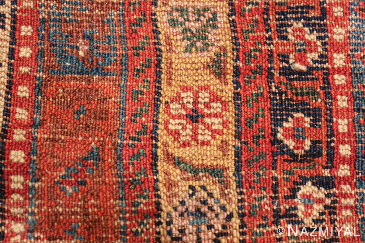 wide hallway antique tribal persian gashgai runner rug 49425 knots Nazmiyal