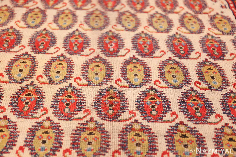 wide hallway antique tribal persian gashgai runner rug 49425 yellow Nazmiyal