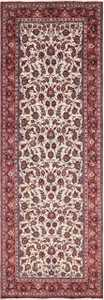Antique Wide Hallway Gallery Size Persian Isfahan Rug 60045 by Nazmiyal