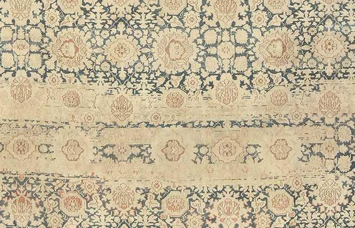 Abrash Color Striations in Oriental rugs by nazmiyal
