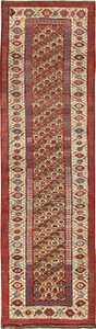 Antique Tribal Persian Kurdish Runner Rug 49710 by Nazmiyal