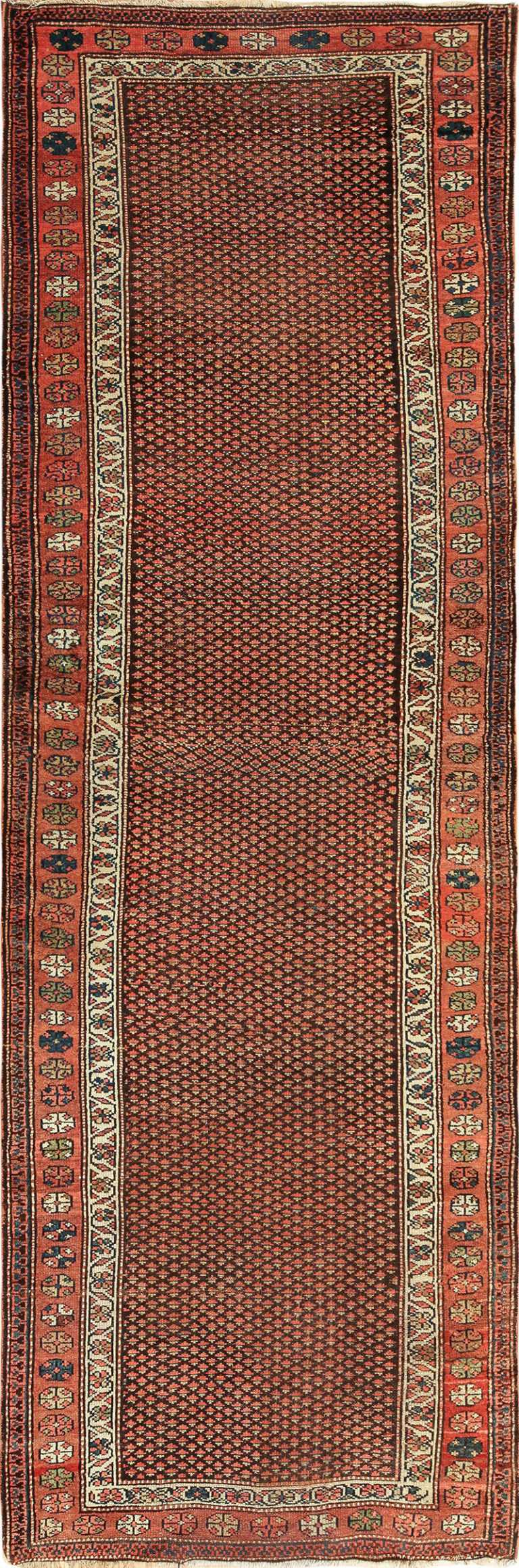 Antique Tribal Northwest Persian Runner Rug 49711 by Nazmiyal