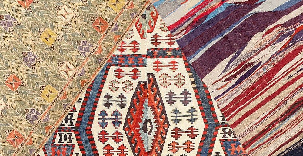 Antique and Vintage Kilims and Flat Weave Rugs by Nazmiyal