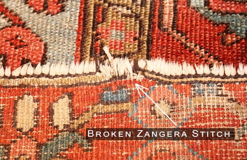 Rug Repair Antique Oriental Rug Repairs Carpet