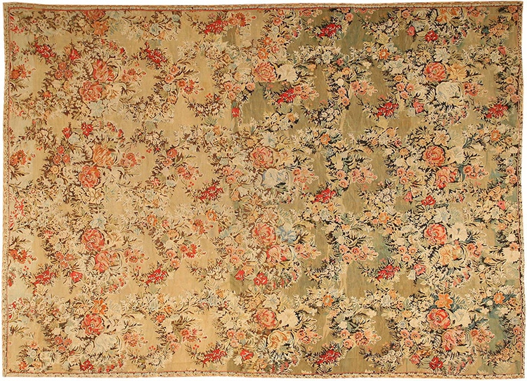 Antique Bessarabian Kilim Flat Weave Rug 43433 by Nazmiyal