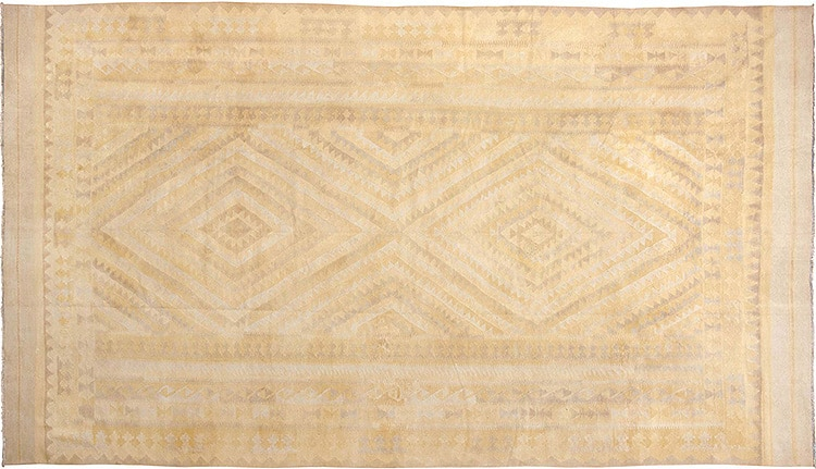 Flat Weave Indian Dhurrie Kilim Rug 44919 by Nazmiyal