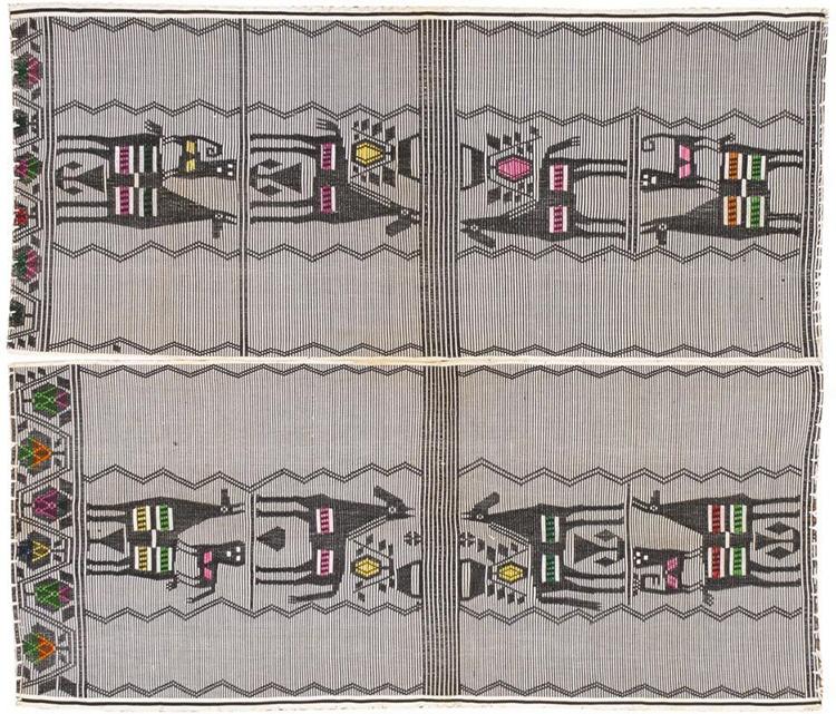Peruvian Flat Weave Kilim Rug 46456 by Nazmiyal