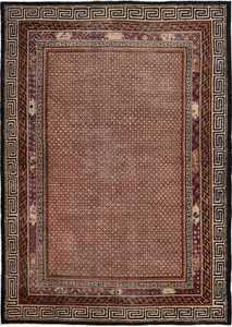 Shabby Chic Antique Room Size Mongolian Rug 49458 by nazmiyal