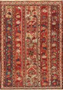 Small Antique Tribal Turkish Melas Rug 49706 by Nazmiyal
