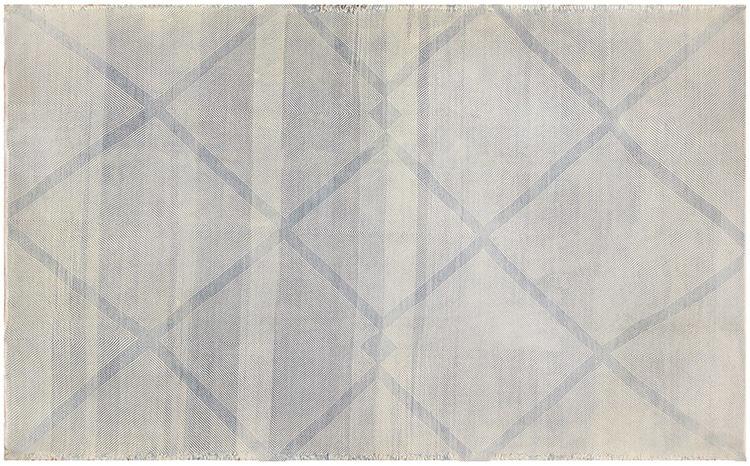 Modern Moroccan Flat Weave Kilim Rug 48351 by Nazmiyal