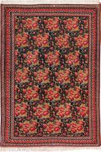 Vintage Small Size Persian Qashqai Rug 49738 Nazmiyal