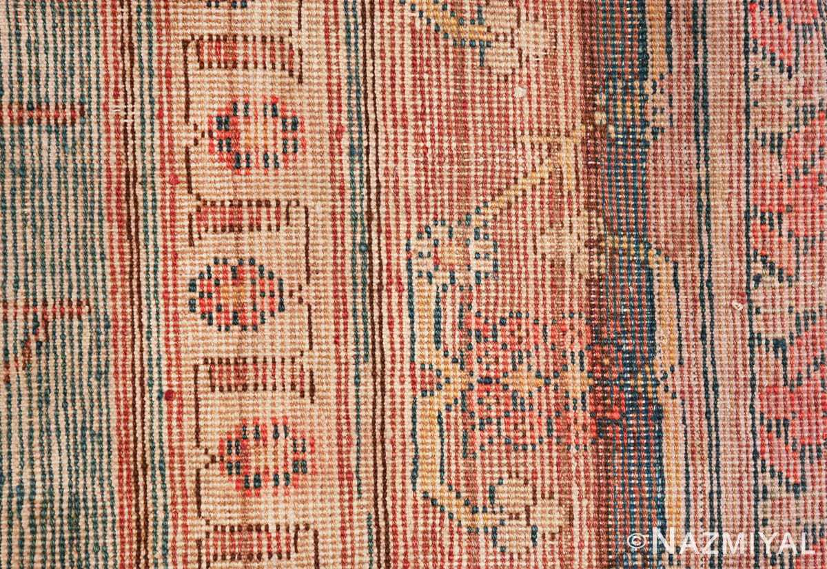antique blue background east turkestan khotan rug 49674 knots Nazmiyal