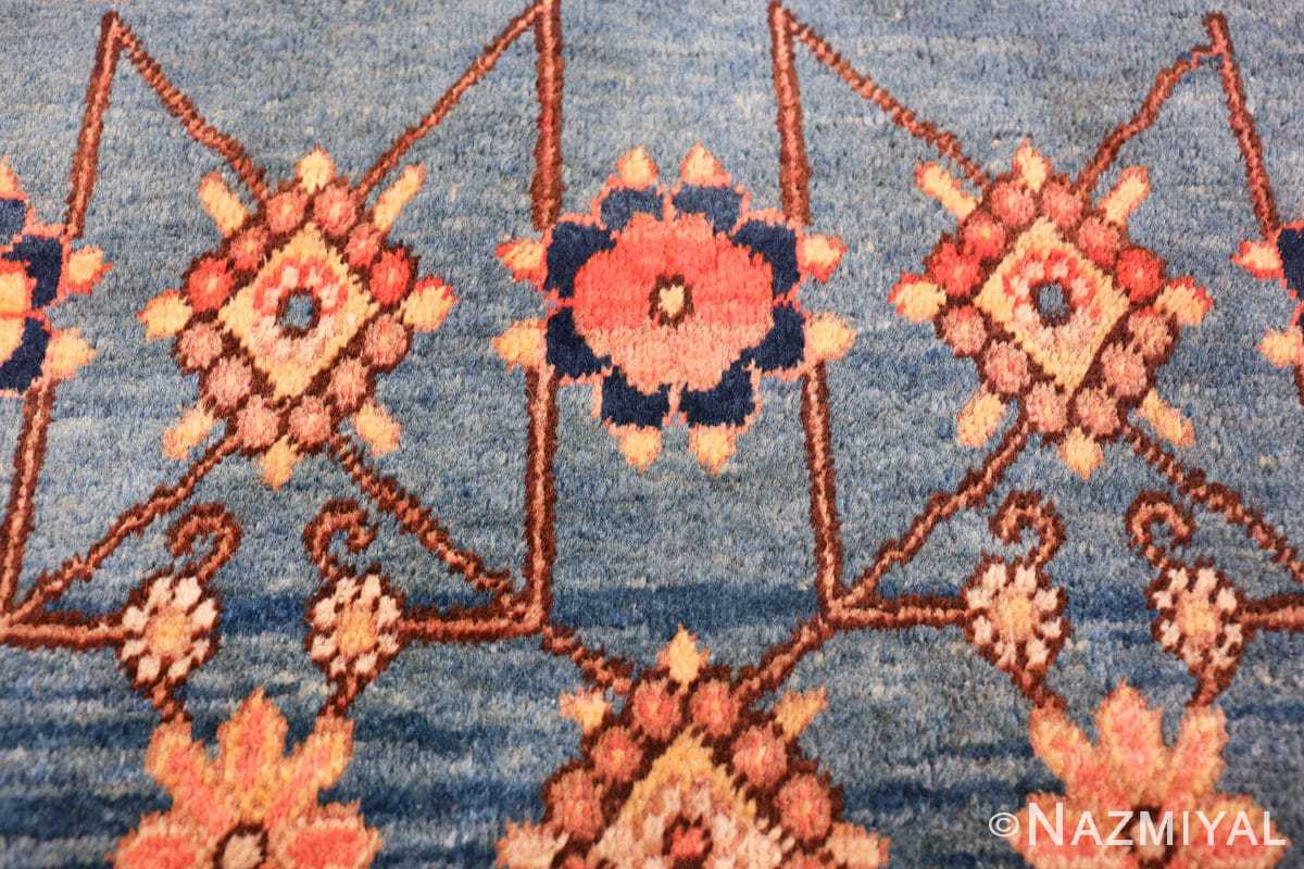 antique blue background east turkestan khotan rug 49674 trio Nazmiyal