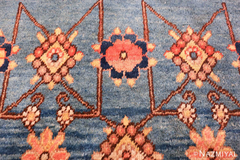 antique blue background east turkestan khotan rug 49674 trio Nazmiyal