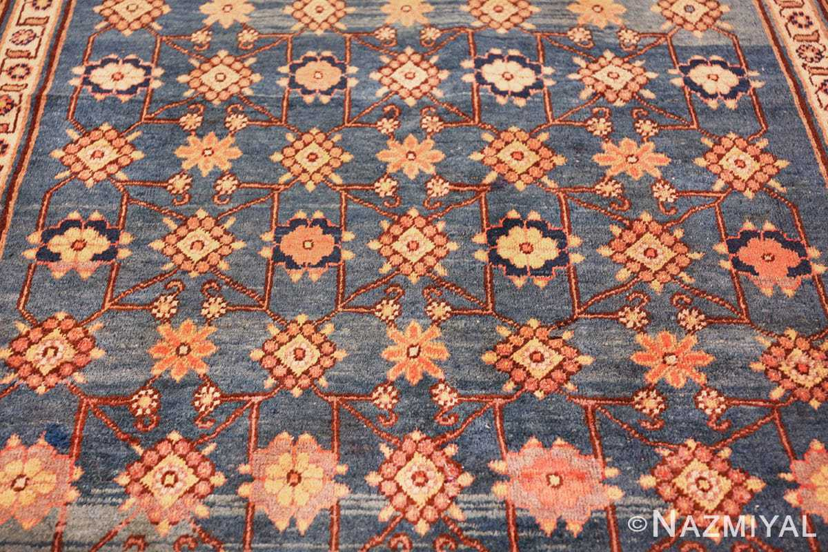 antique blue background east turkestan khotan rug 49674 upside Nazmiyal