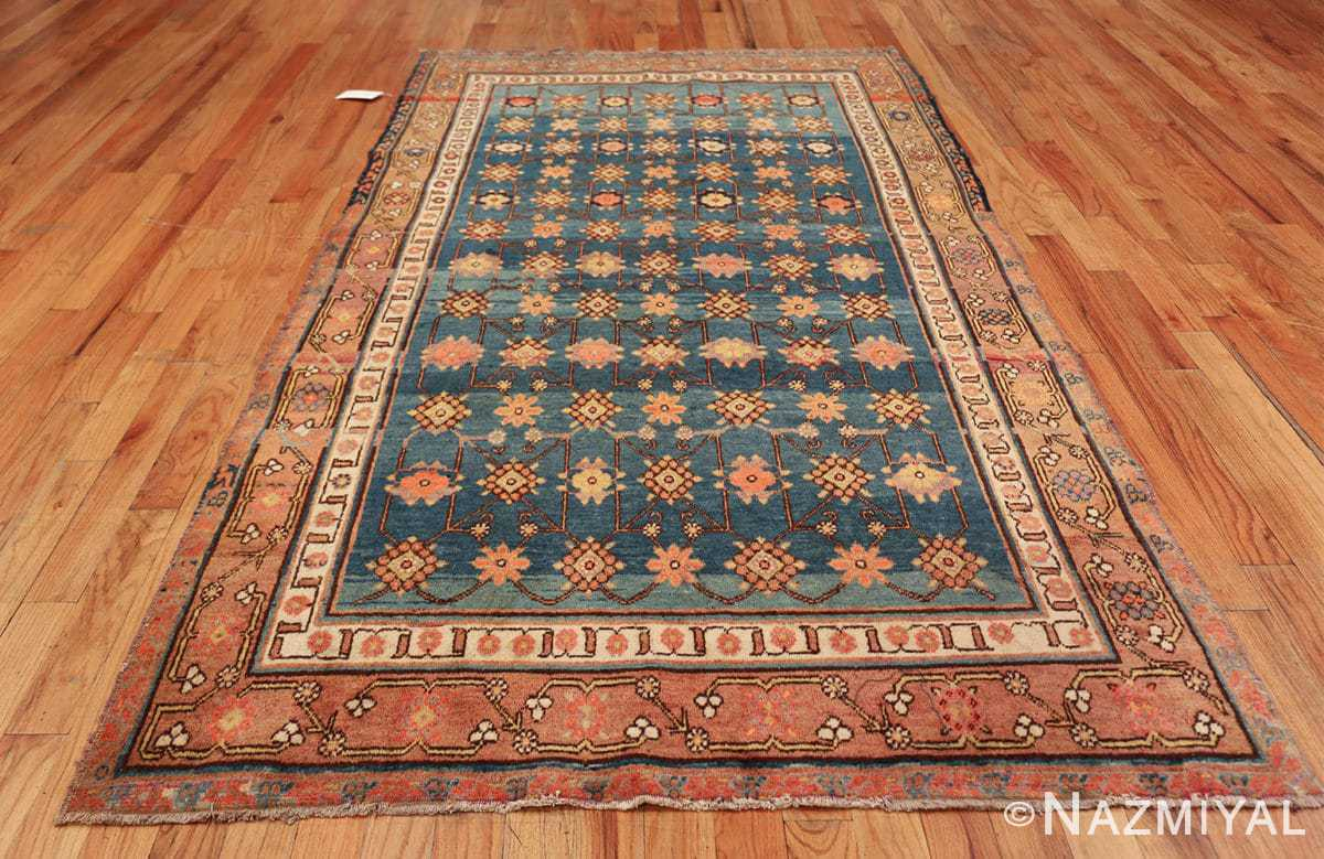 antique blue background east turkestan khotan rug 49674 whole Nazmiyal