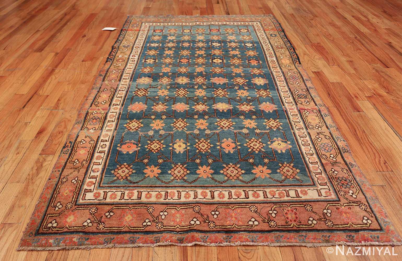 antique blue background east turkestan khotan rug 49674 whole Nazmiyal