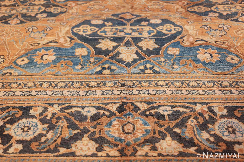 antique brown color persian khorassan rug 49708 design Nazmiyal