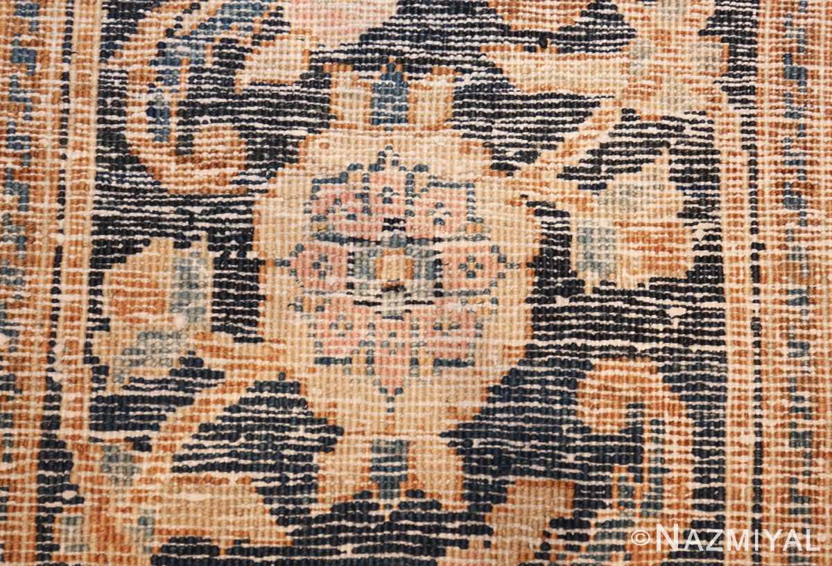 antique brown color persian khorassan rug 49708 knots Nazmiyal
