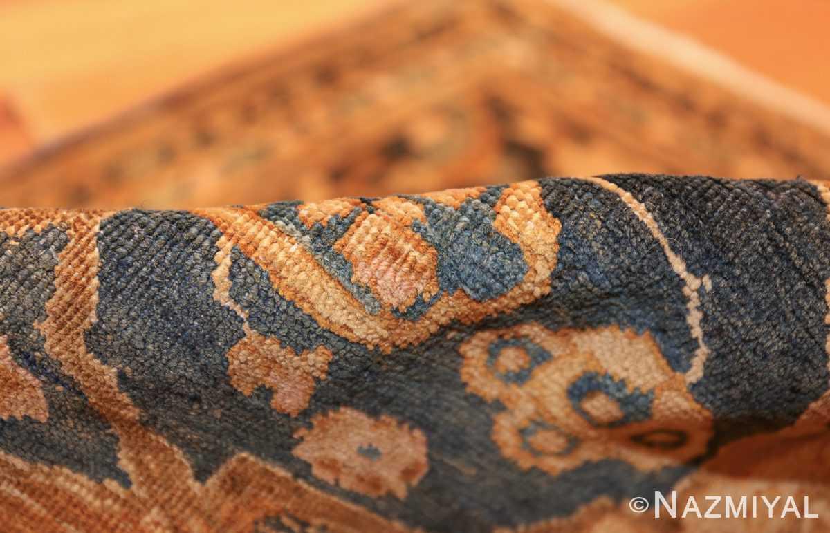 antique brown color persian khorassan rug 49708 pile Nazmiyal