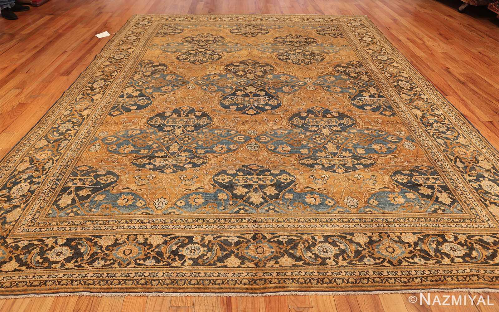 antique brown color persian khorassan rug 49708 whole Nazmiyal