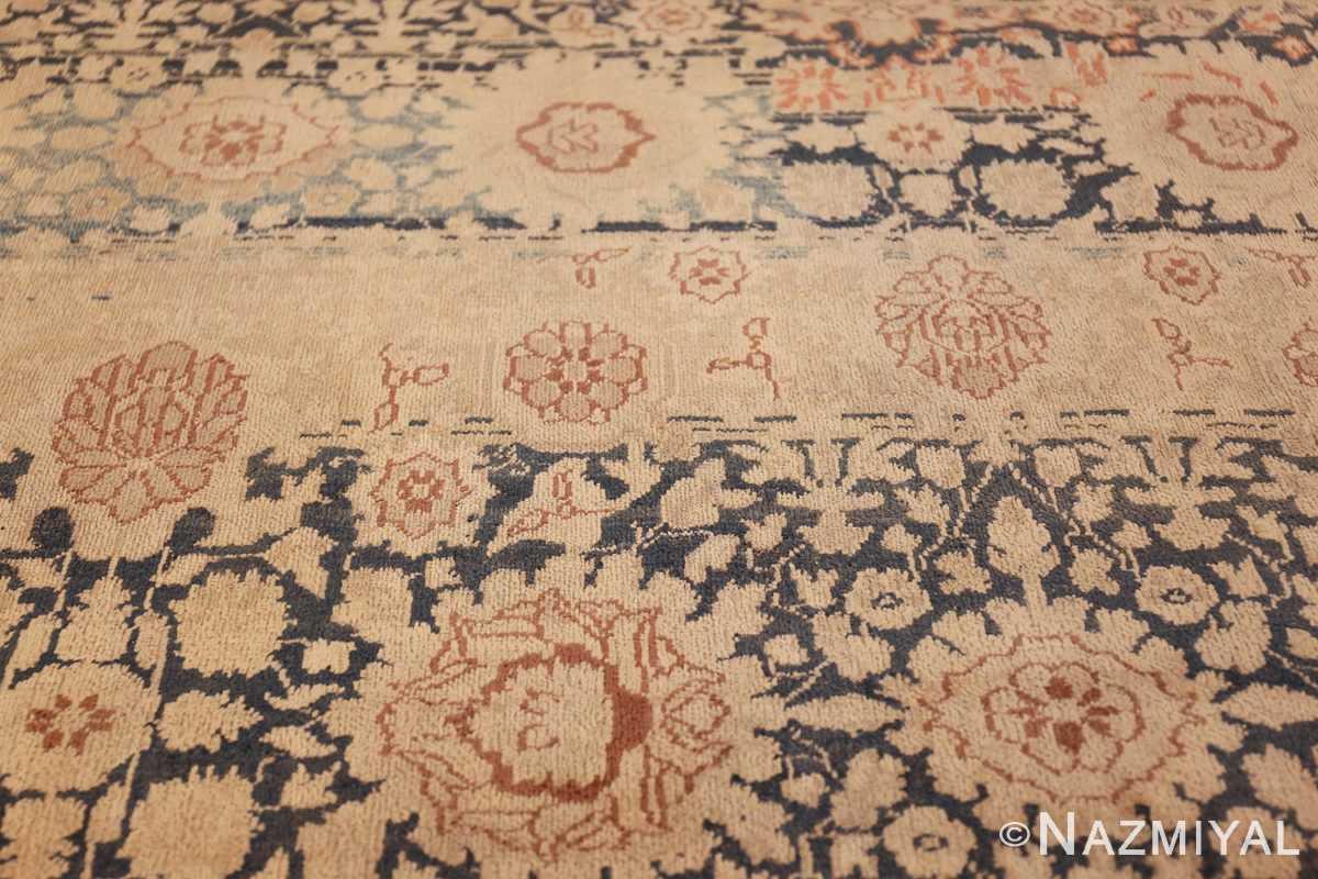 antique gray background persian tabriz rug 49714 abrash Nazmiyal