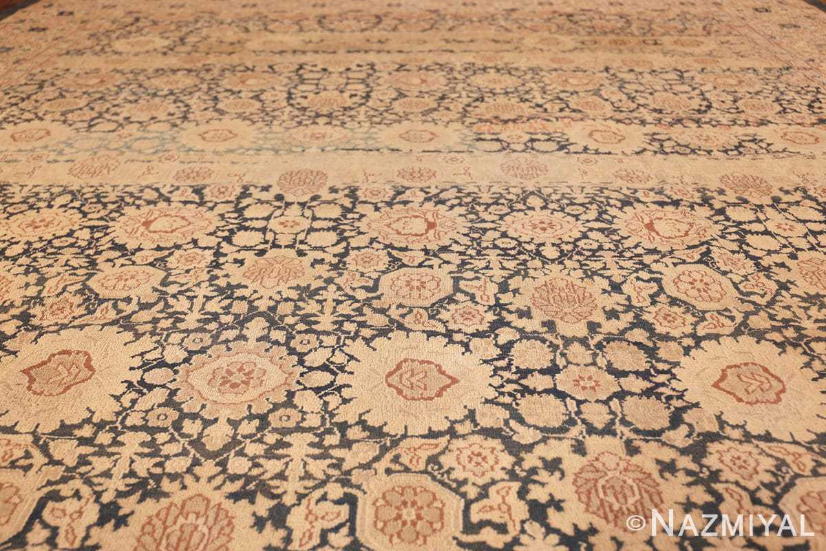 antique gray background persian tabriz rug 49714 field Nazmiyal