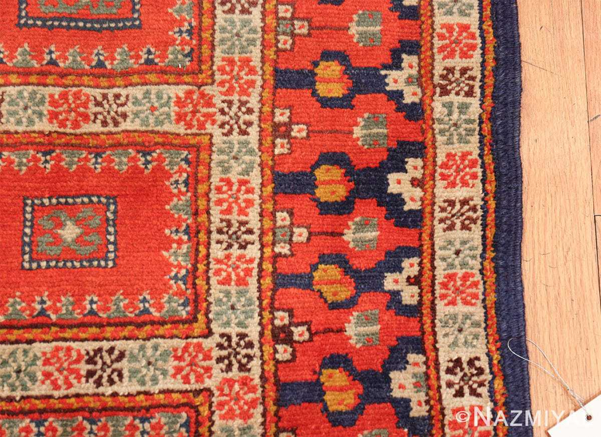 antique israeli marbediah rug 49737 border Nazmiyal