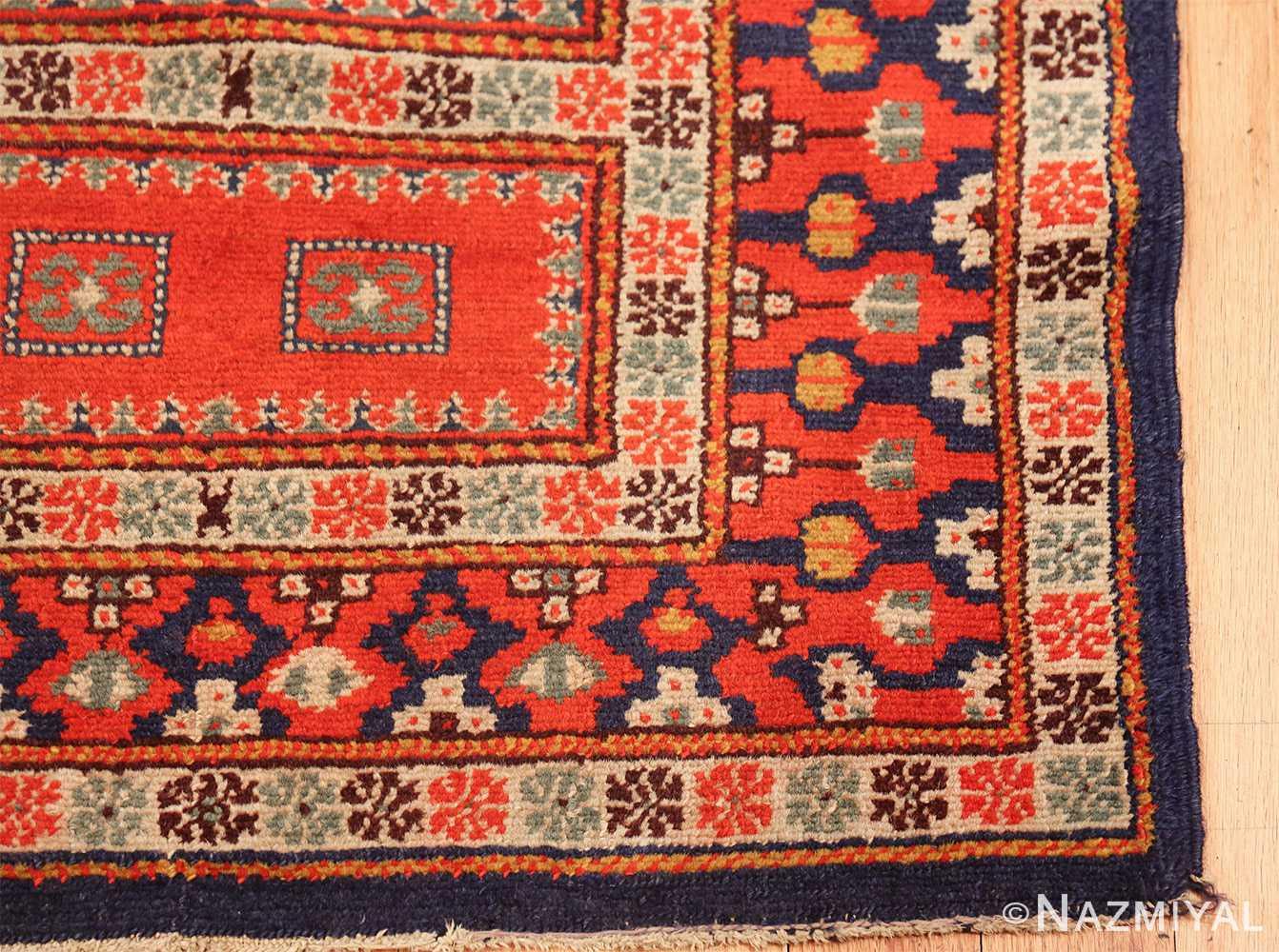 antique israeli marbediah rug 49737 corner Nazmiyal