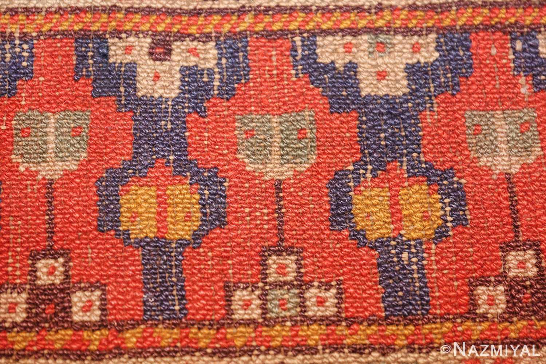 antique israeli marbediah rug 49737 knots Nazmiyal