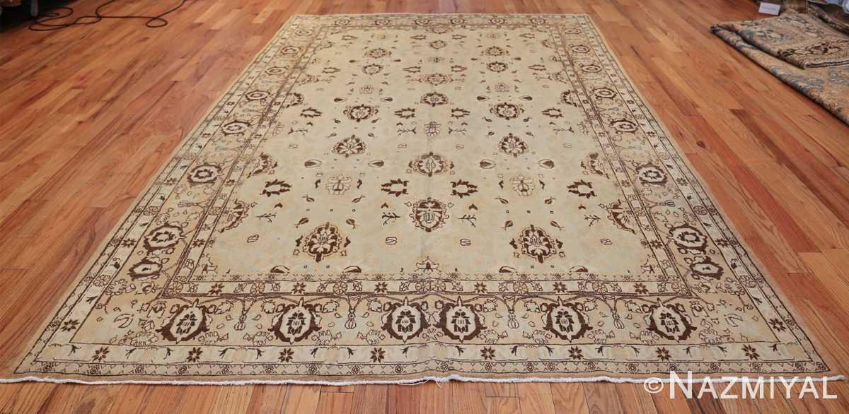 antique light blue color persian tabriz rug 49707 whole Nazmiyal