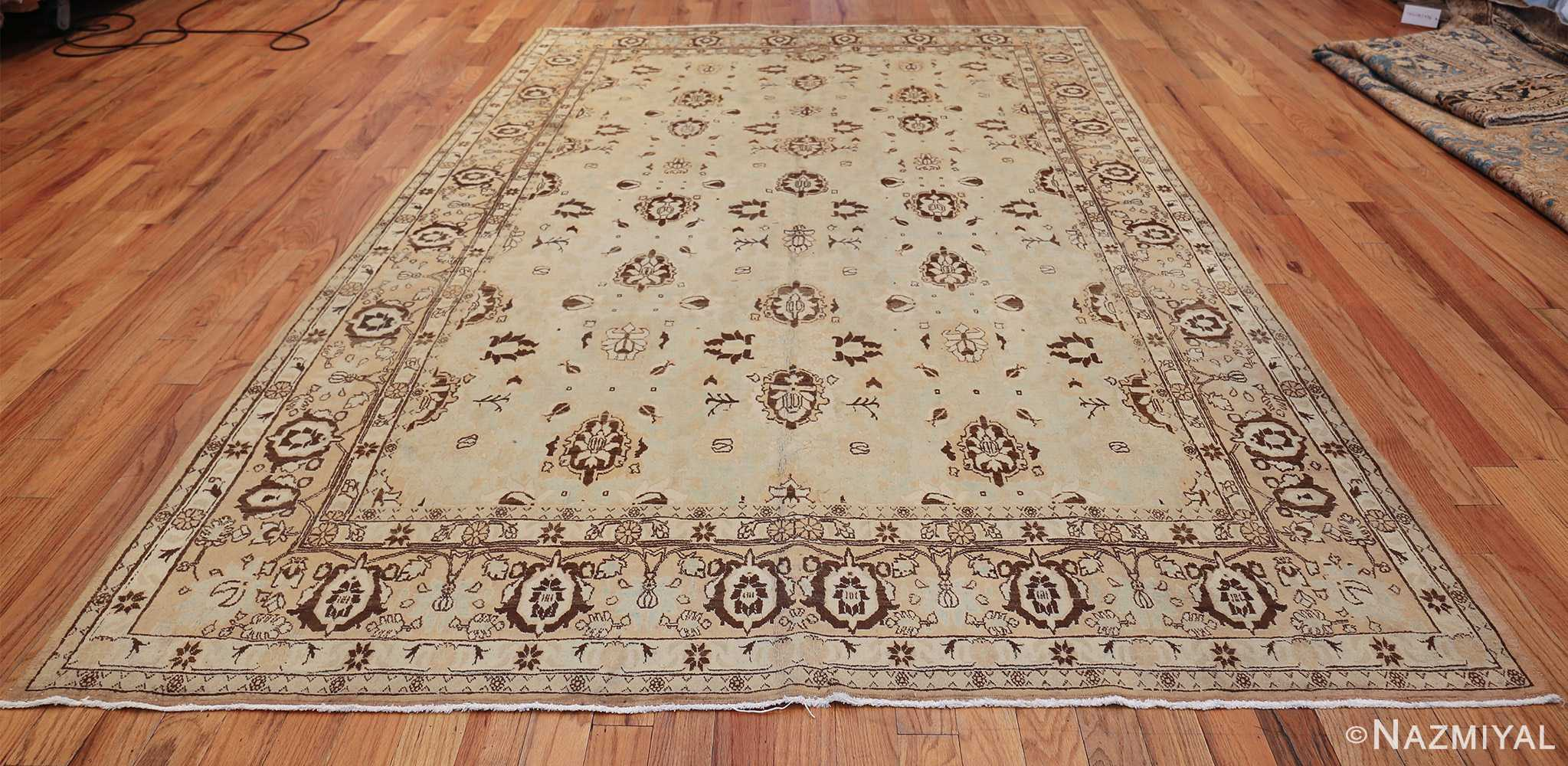 antique light blue color persian tabriz rug 49707 whole Nazmiyal