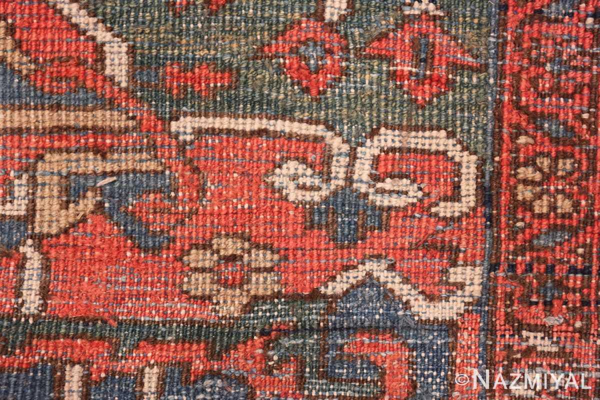 antique room size persian heriz rug 49479 knots Nazmiyal