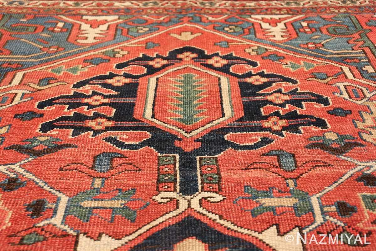 antique room size persian heriz rug 49479 tiara Nazmiyal