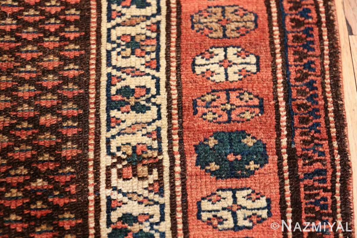 antique tribal northwest persian runner rug 49711 border Nazmiyal