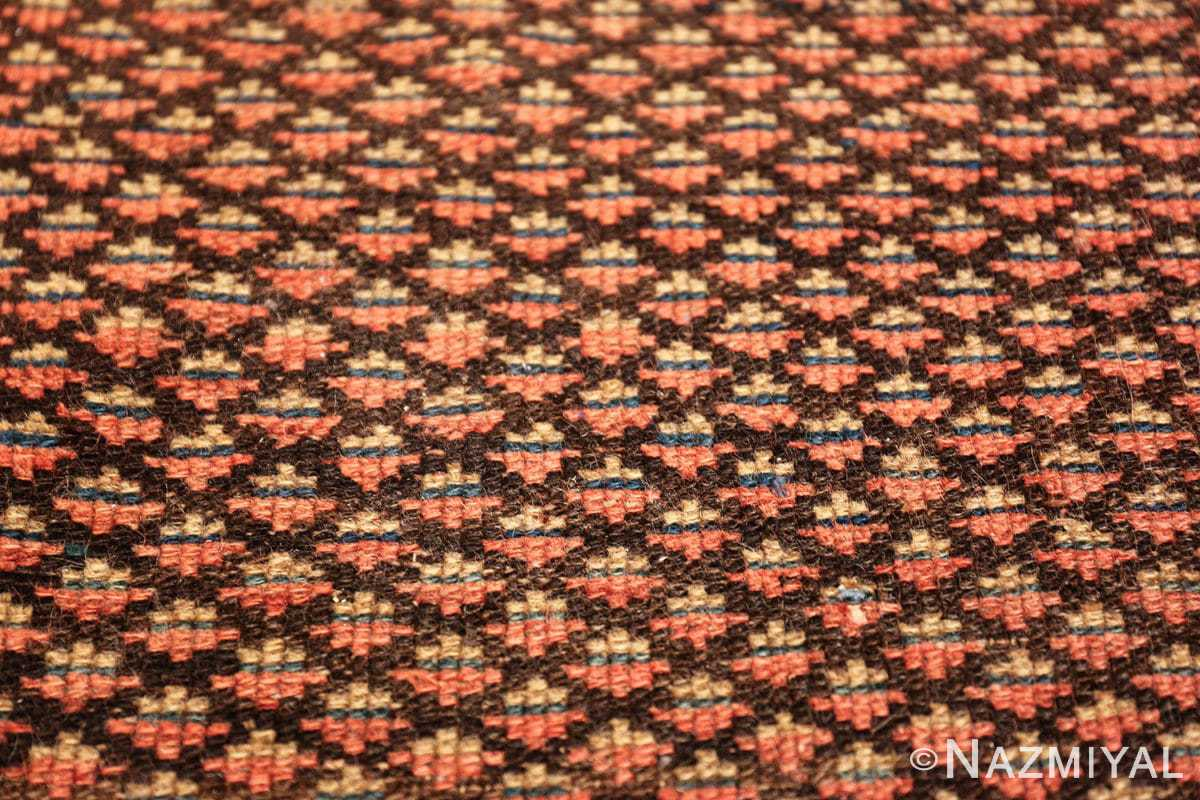 antique tribal northwest persian runner rug 49711 closeup Nazmiyal