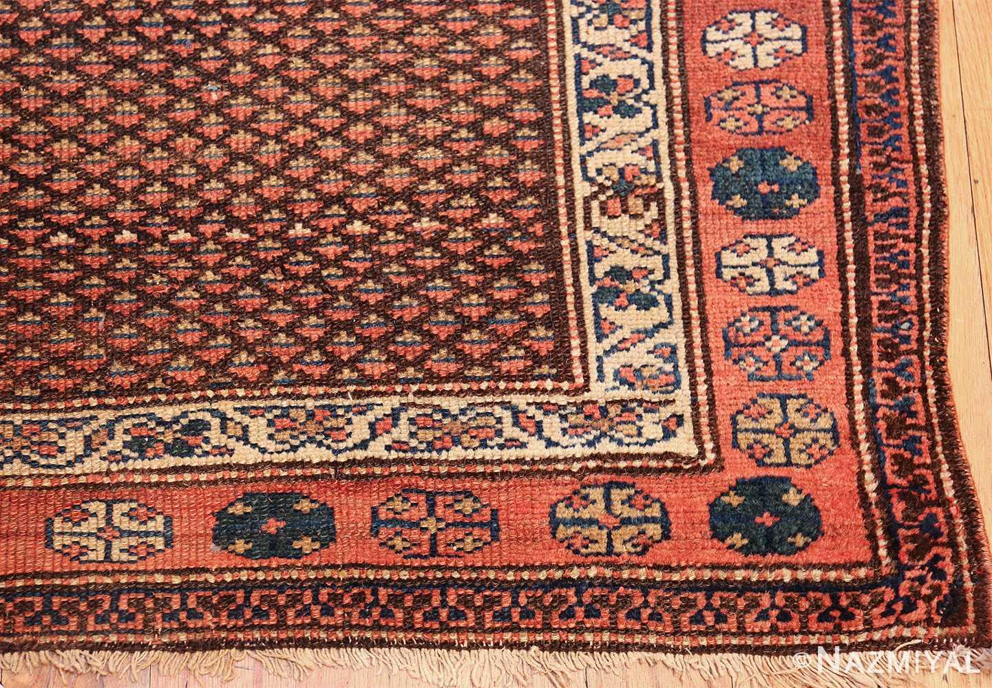 antique tribal northwest persian runner rug 49711 corner Nazmiyal