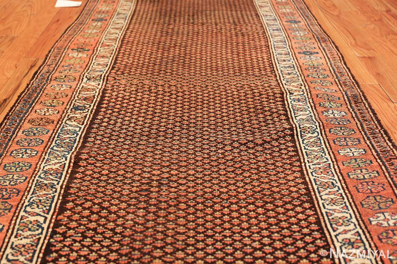 antique tribal northwest persian runner rug 49711 field Nazmiyal