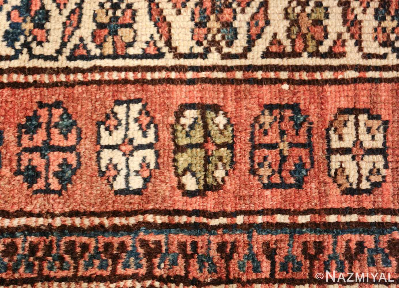 antique tribal northwest persian runner rug 49711 texture Nazmiyal