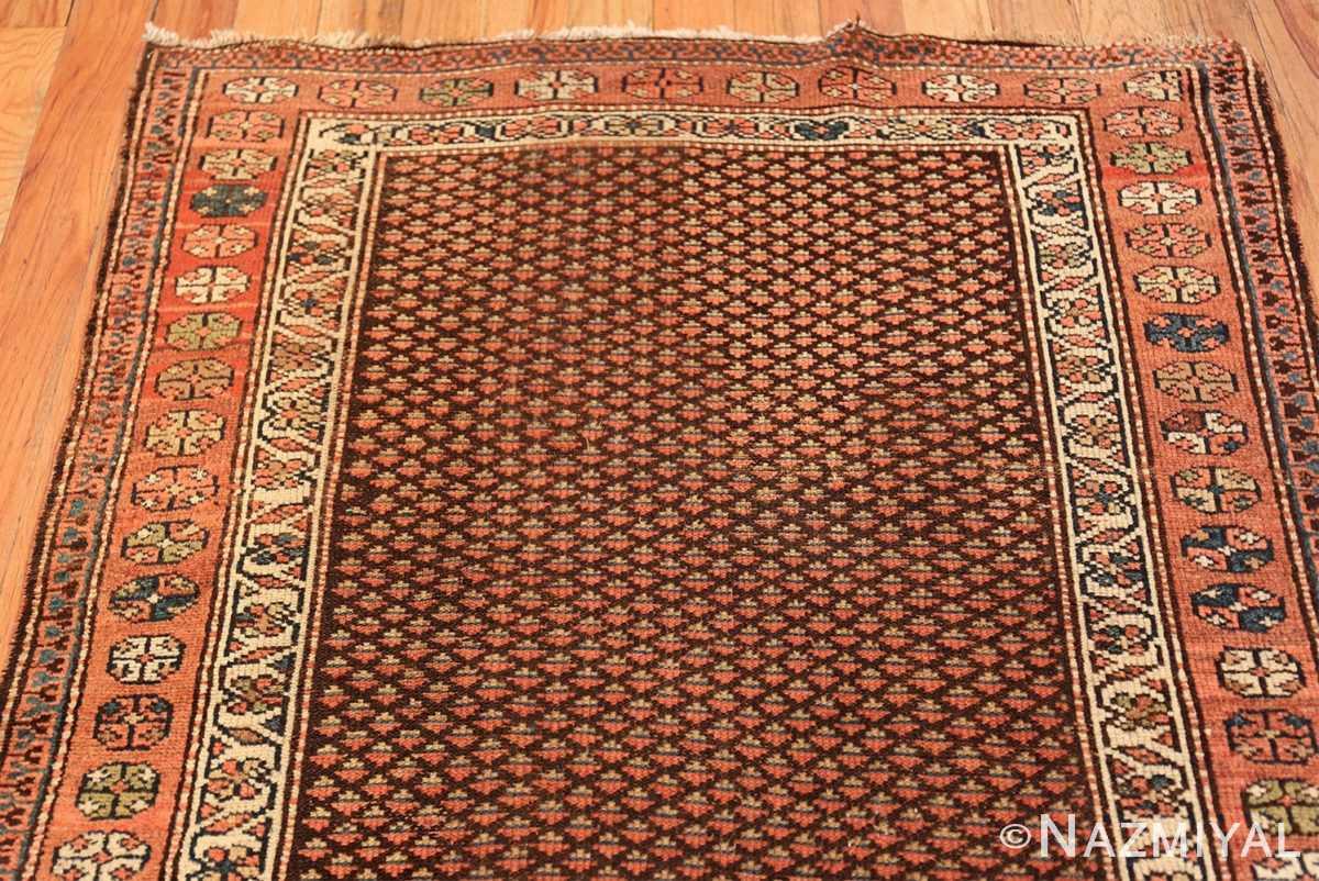 antique tribal northwest persian runner rug 49711 top Nazmiyal