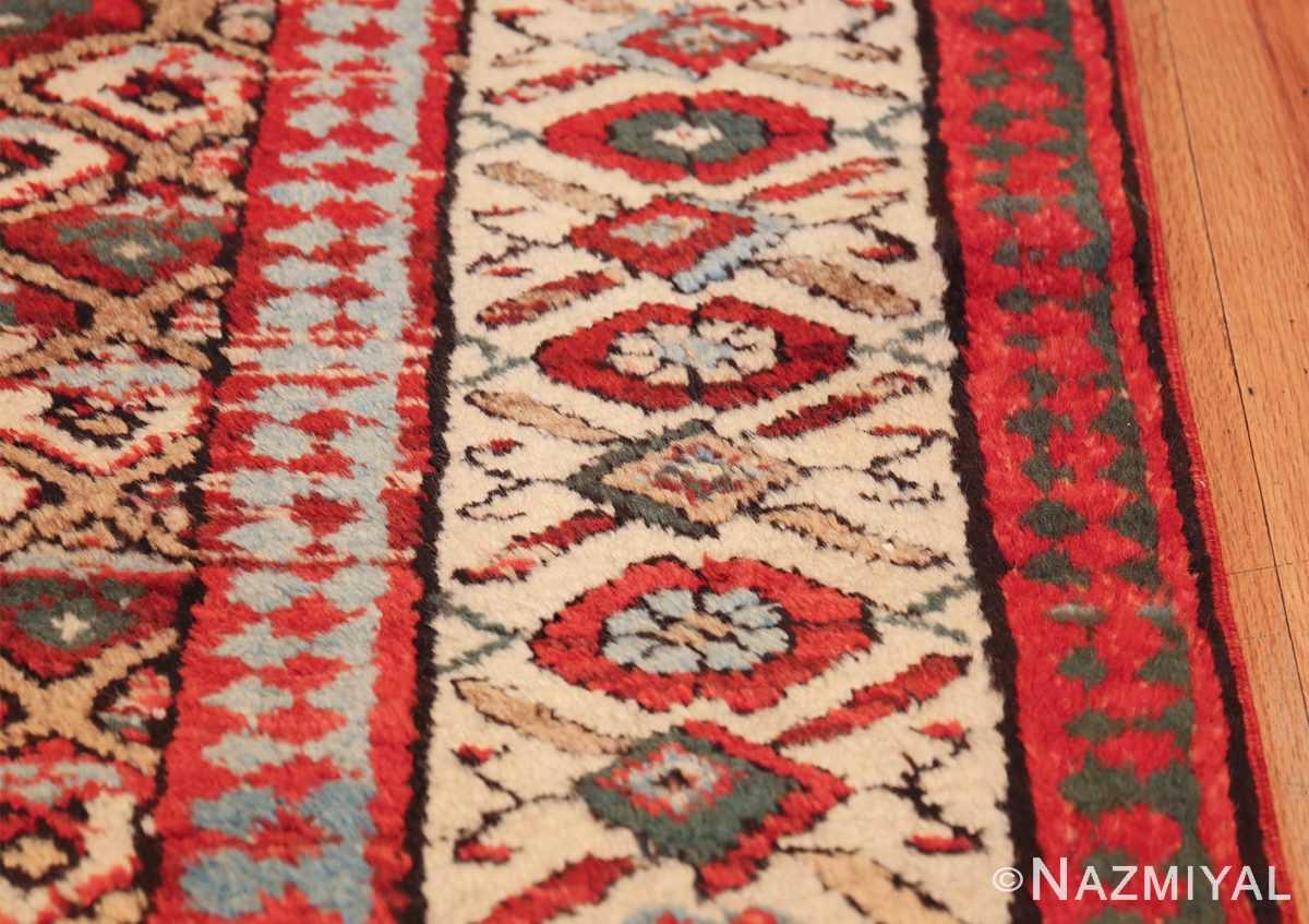 antique tribal persian kurdish runner rug 49710 border Nazmiyal