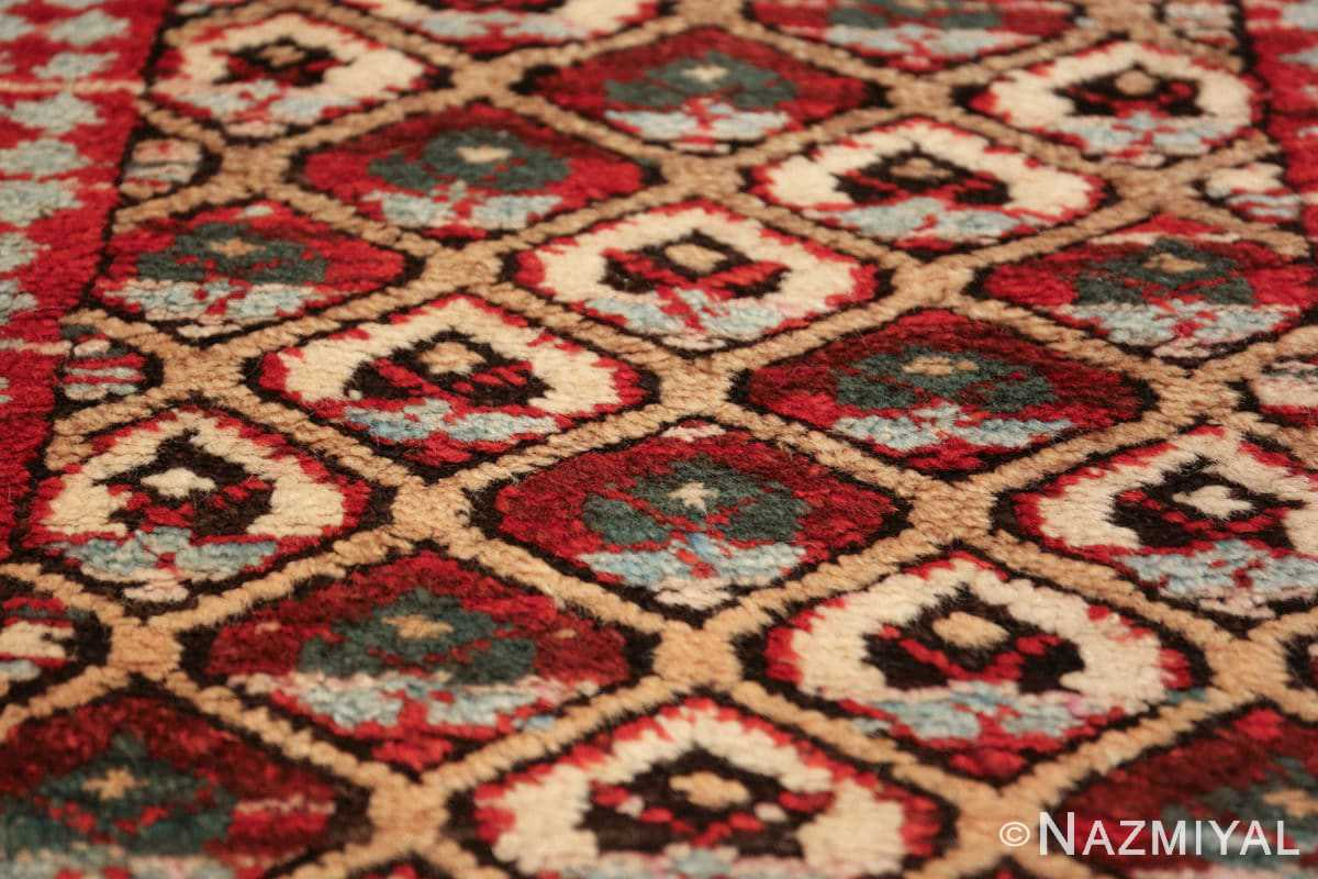antique tribal persian kurdish runner rug 49710 dark Nazmiyal