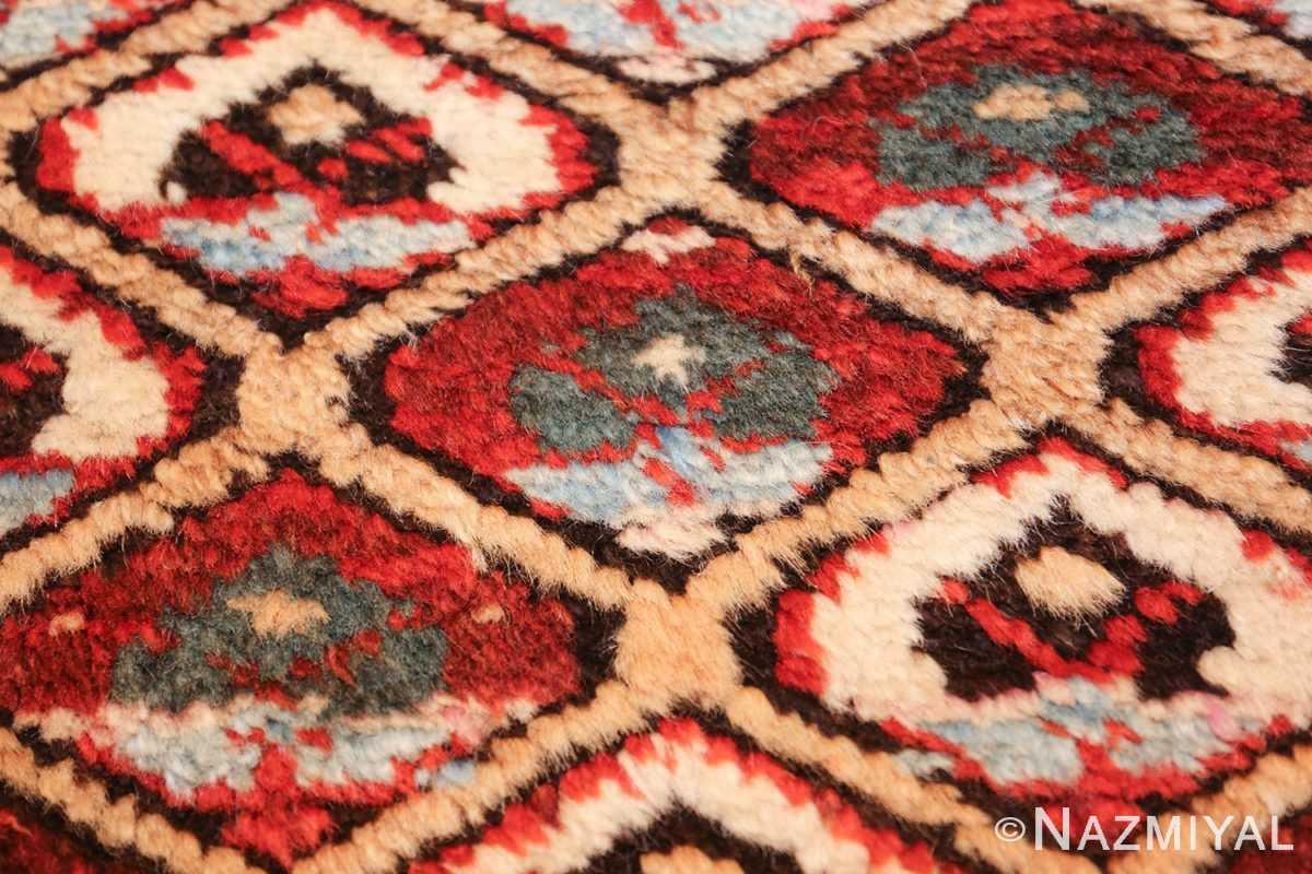 antique tribal persian kurdish runner rug 49710 flower Nazmiyal